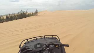 Terrain racing on the sand - P1