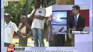 Canal 24 Horas TVN: causas del contagio de Ebola