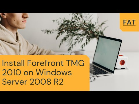 Install Forefront TMG 2010 on Windows Server 2008 R2
