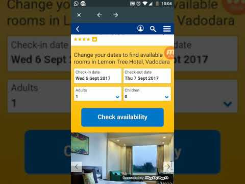 Booking Hotel Online From Trivago App | Service And Review.