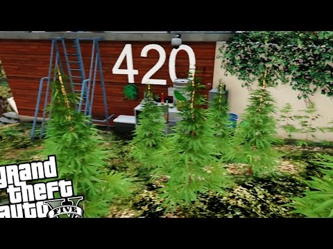 Hollywood Boss Mansion 420 - GTA 5 PC MOD (Weed Growing Mansion)