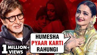 Amitabh Bachchan And Rekha 31 Shocking CONTROVERSIES | Silsila, Affair, Breakup