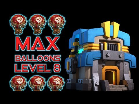 MAX LEVEL BALLOON ATTACKS - TH12 Grinding - Clash Of Clans