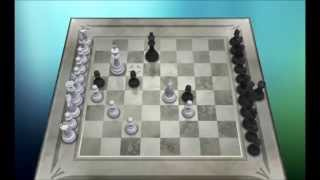 Chess Titans Level 10 vs Deep Fritz 14