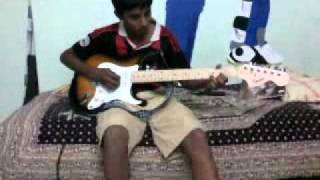 varun sunder -ac dc-shoot to thrill-guitar