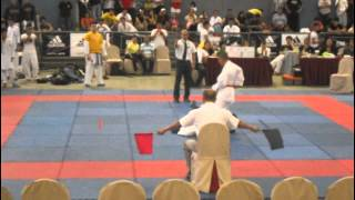 Sonny Montalvo of AAK at Adidas Martial Arts Week(karatedo) 2011