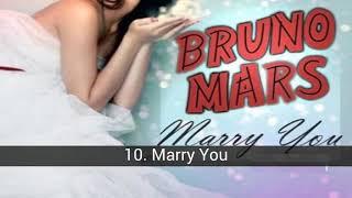 Lagu-lagu terbaik Bruno Mars