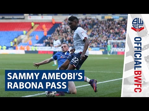 SKILLS | Sammy Ameobi's rabona pass