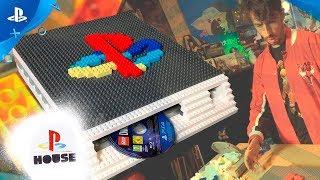 CÓMO HACER tu PS4 de LEGO | #PlayStationHouse