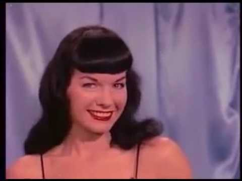 "Bettie Page  – ""Queen of Pin Up""  em Teaserama (1955)"