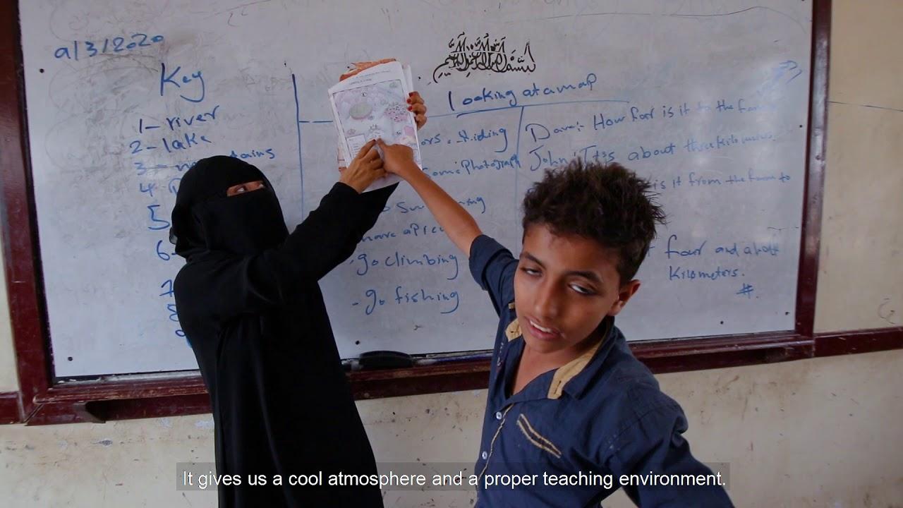تم تنفيذ واحد من أكبر المشاريع الطاقة الشمسية في اليمن في محافظة الحديدة