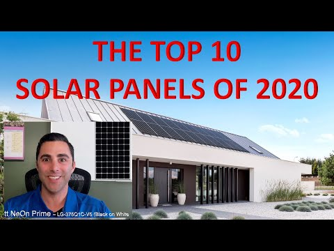Top 10 Solar Panels of 2020 – Comparing the Best Solar Panels!