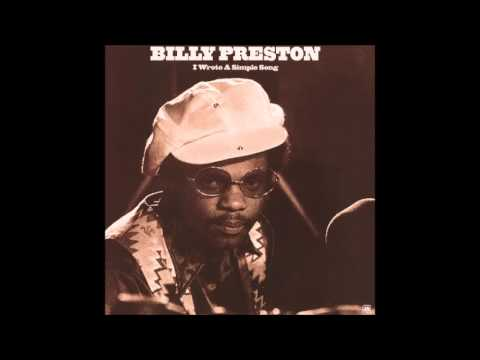 Billy Preston - I Wrote A Simple Song - Full Album - 1971