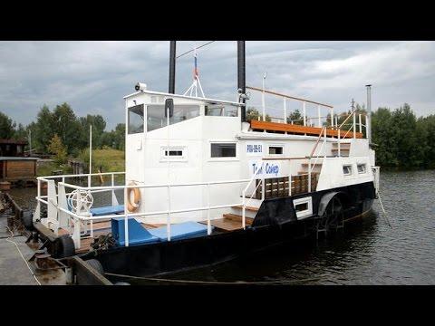 Колесные пароходы: бегущие по волнам
