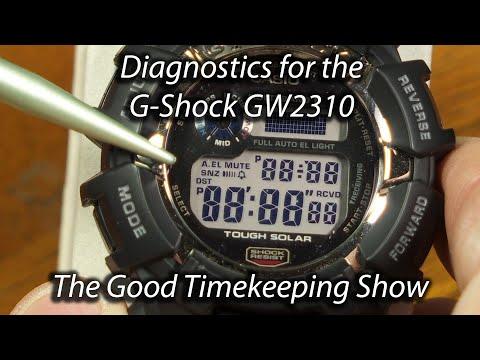 Diagnostics For Casio G-Shock GW2310