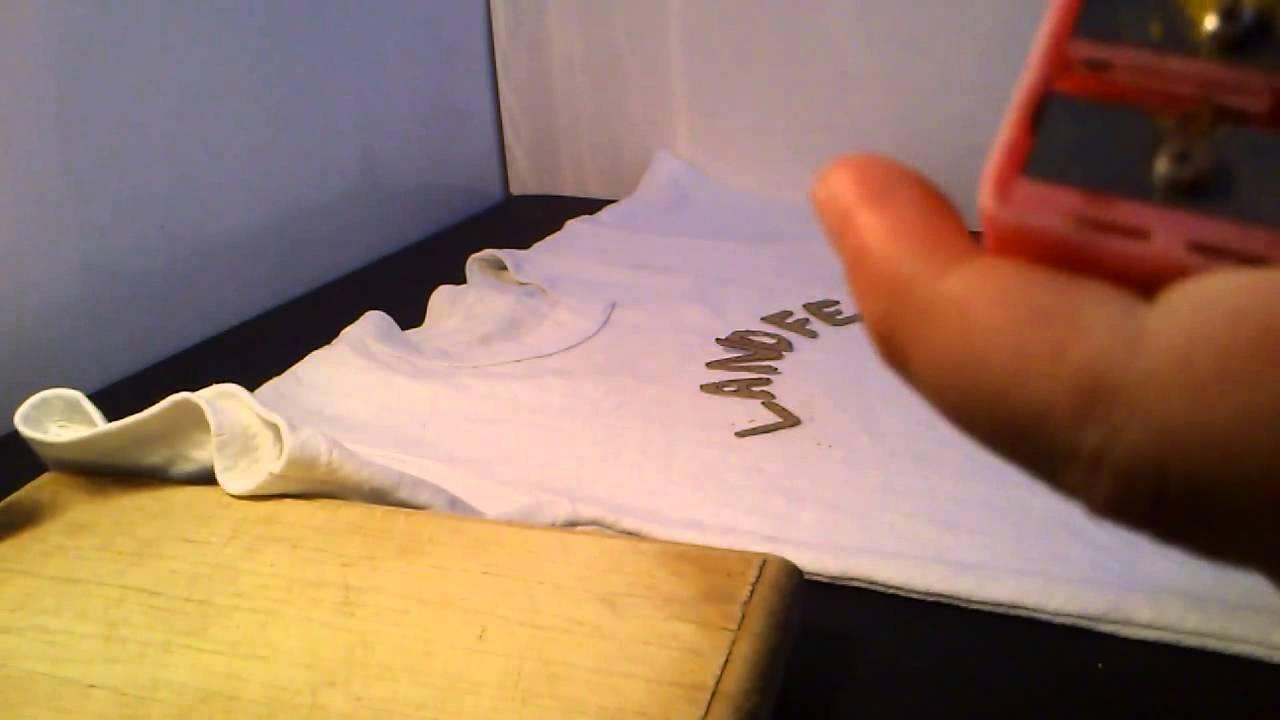 C mo estampar camisetas estampados de camisetas caseros youtube - Estampar camisetas en casa ...