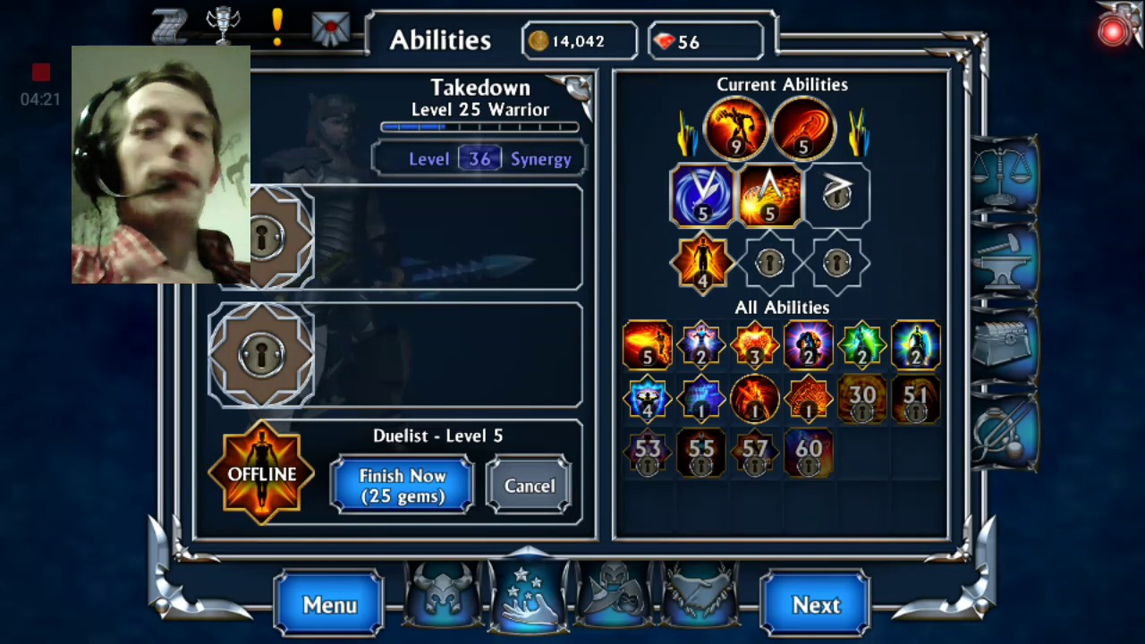 Eternium Mage and minions hints an tips part 3 of 6  Warrior build an skills