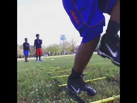 Youth Football Training with Chico Cleveland | Speed Agility Hands