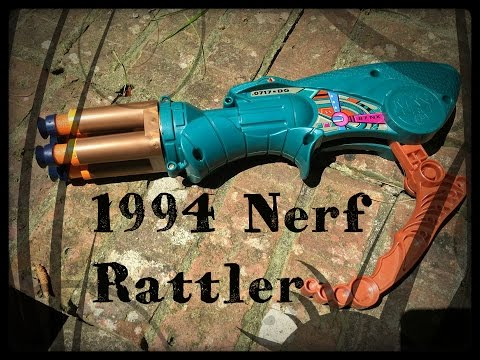REVIEW: The Vintage 1994 Nerf Rattler (Serpentine Sidearm)
