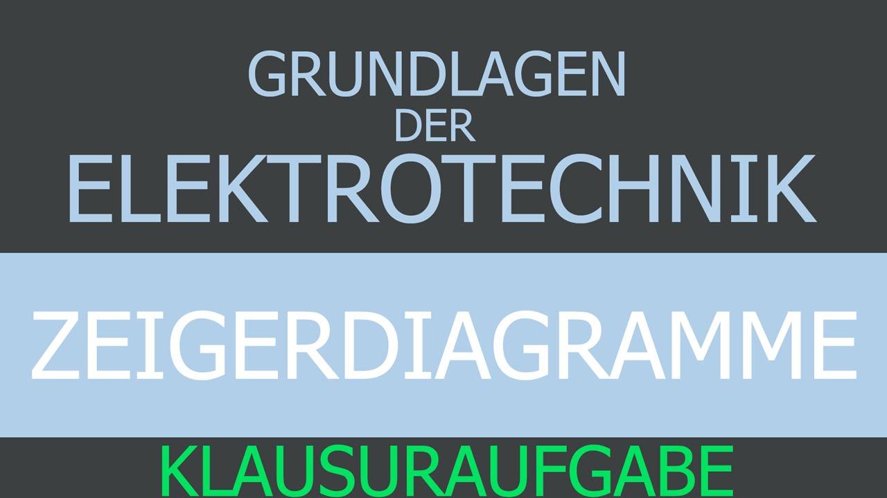Grundlagen der Elektrotechnik - Zeigerdiagramme - Beispiel ...