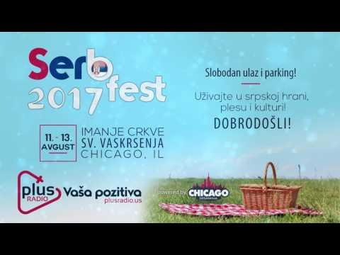 Plus Radio - Vasa pozitiva! :: SERB FEST 2017 :: NAJAVA