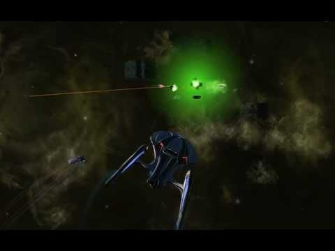 STAR TREK ONLINE HD Odyssey Class-Borg Sector Patrol (2012)