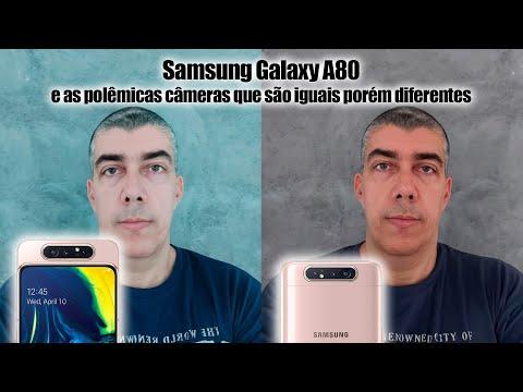 Samsung Galaxy A80 e as polêmicas câmeras que são iguais porém diferentes