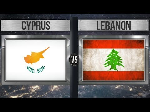 CYPRUS VS LEBANON - Total Comparsion and Statistics  for 2018