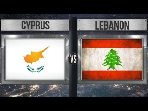 CYPRUS VS LEBANON - Total Comparison and Statistics  for 2018