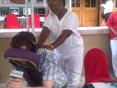 Jeffro's Massage at Sandals
