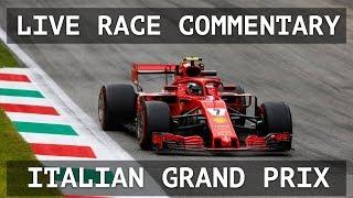 Live Italian Grand Prix Race Companion - with Dillon Shelley