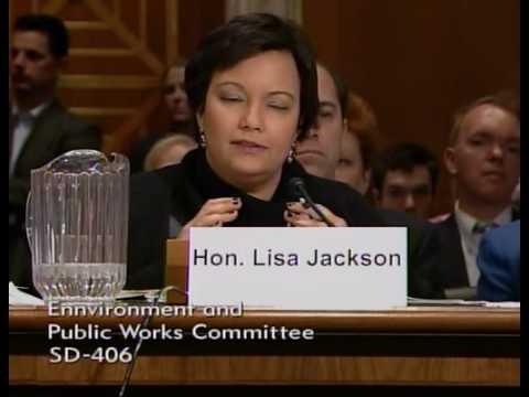 Sen. Inhofe Questions EPA Adminstrator Lisa Jackso...