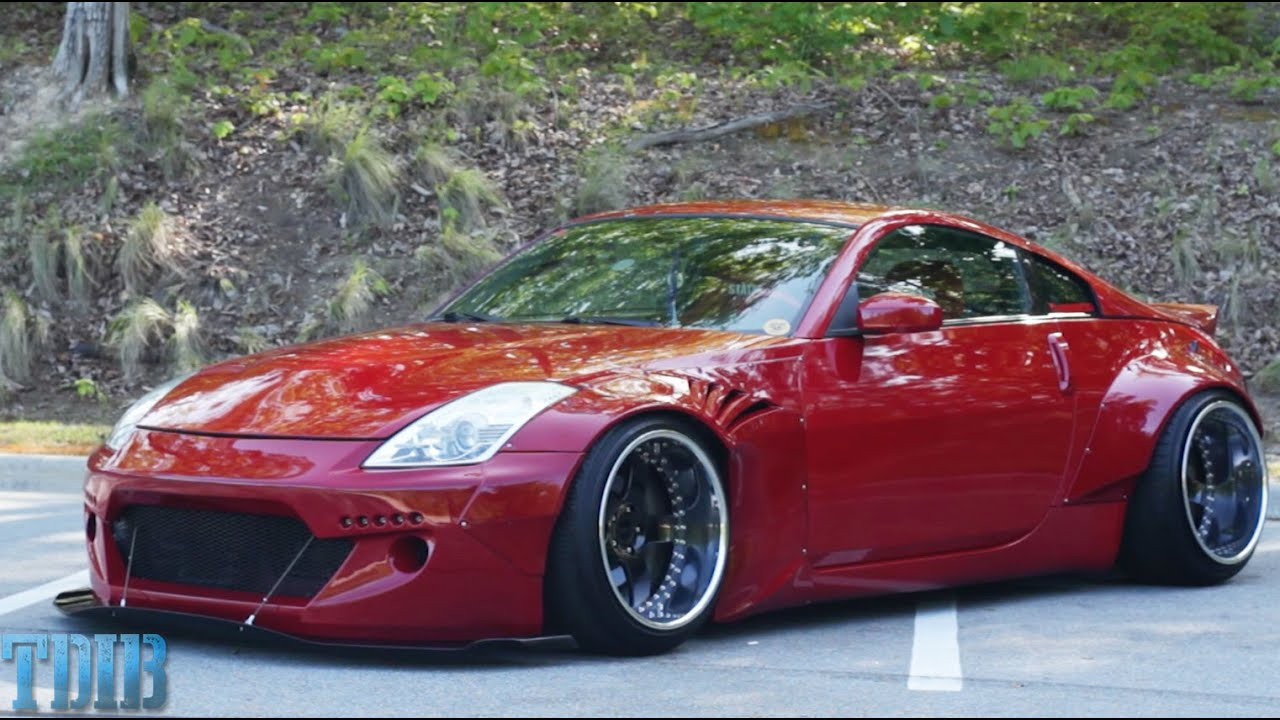 rocket bunny 350z review!-the rescued bunny z - youtube