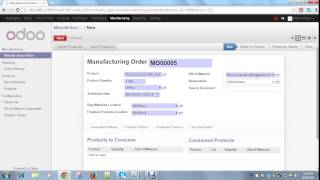 How to generate a product label in Odoo
