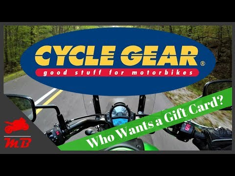Cycle Gear Gift Card Giveaway!