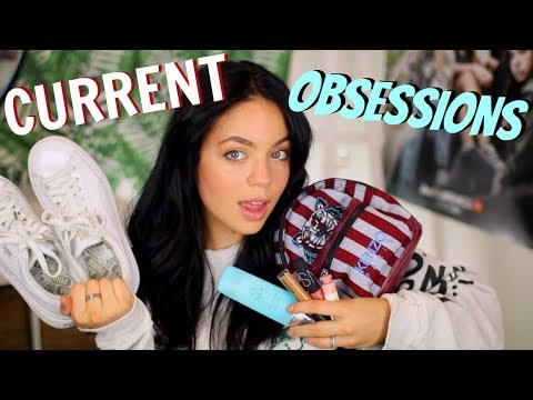 CURRENT OBSESSIONS! Makeup, Fashion, Health & MUSIC!