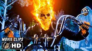 GHOST RIDER Clips + Trailer (2007) Nicolas Cage