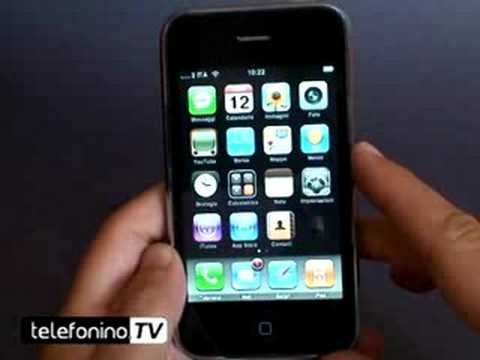Apple iPhone 3g videoreview part 1