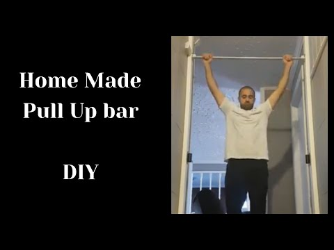 Best Home Made Pull Up Bar - DIY