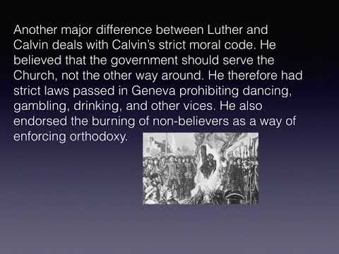 Calvin and French Wars of Religion