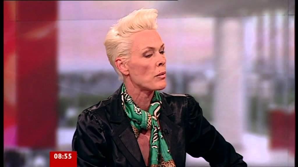 Brigitte Nielsen: BBC Breakfast Sian & Bill