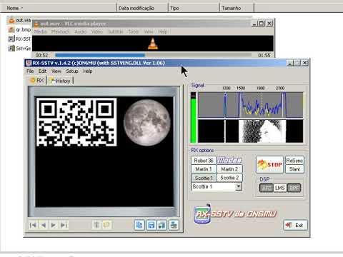 Generate/Decode SSTV Bitcoin QR