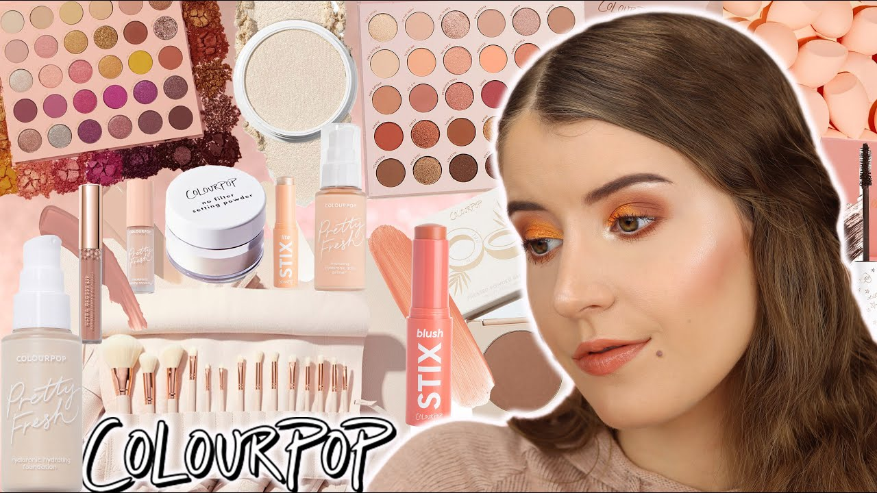 FULL FACE USING THE BEST COLOURPOP PRODUCTS...OMG!! 😲