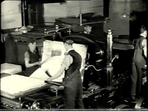 OUP Silent Film: Printing Oxford Books in the 1920s