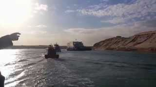 Group tour Mamish and British Minister of State and the British Ambassador in Suez Canal