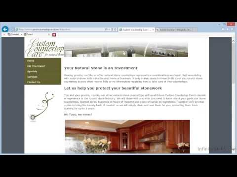 Adobe Acrobat XI Tutorial | Creating PDFs From Web Pages