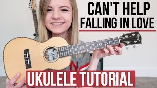 Can't Help Falling In Love - Elvis Presley/twenty one pilots | UKULELE TUTORIAL