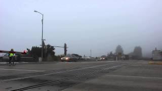 Westbound Sounder Commuter Train #1707 at Edmonds, WA. 10/07/2014