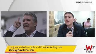 Los problemas del gobierno Duque. Vicky Dávila entrevista a jóvenes de los diferentes partidos