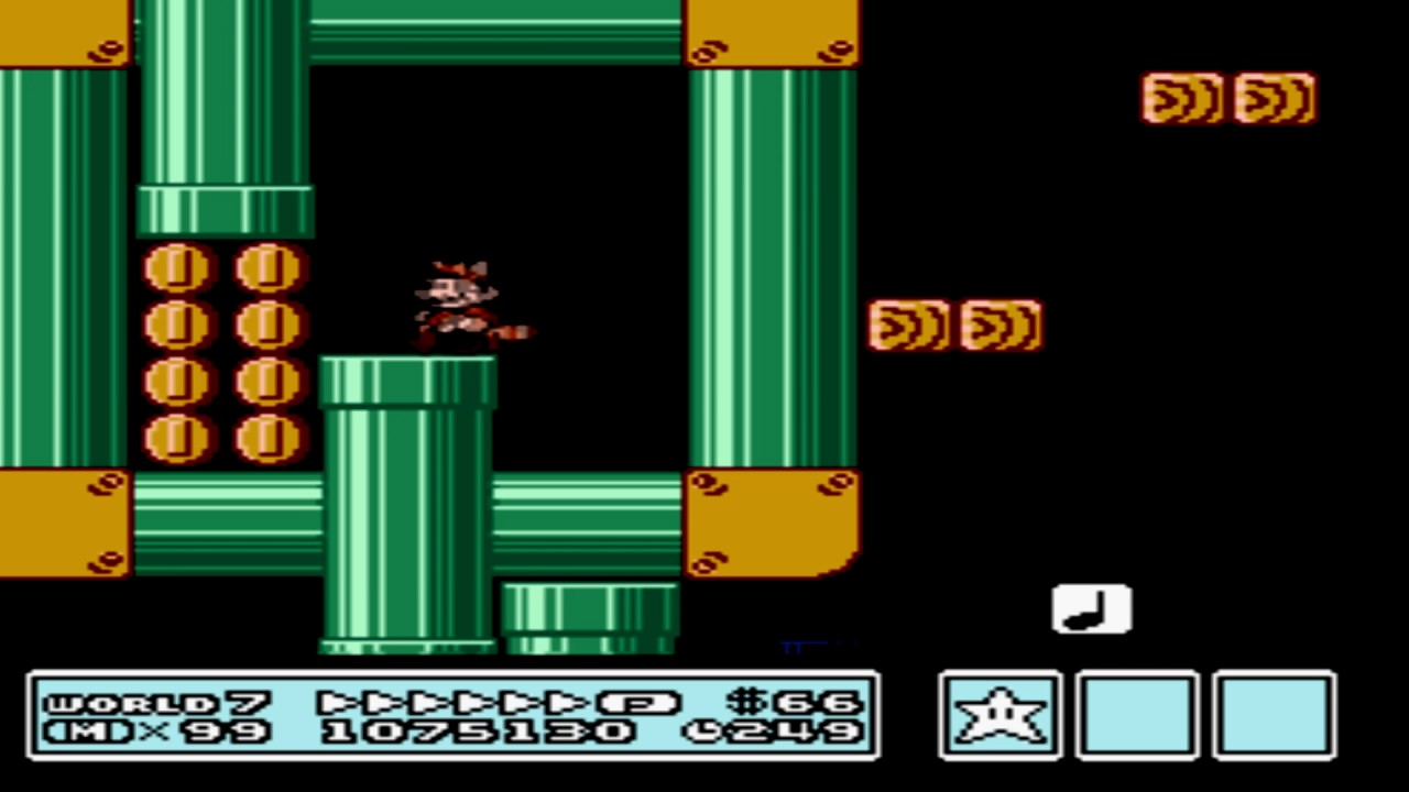 Super Mario Bros  3 - World 7-1